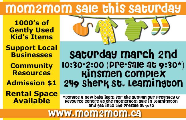 Mom2Mom Sale