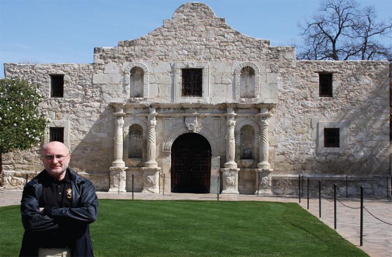 Collins at Alamo