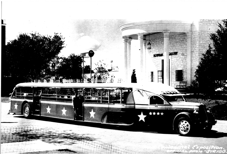 Bus for tours