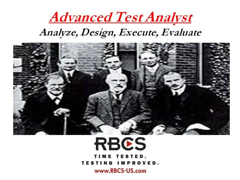 ISTQB Advanced Test Analyst E-Learning