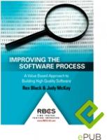 Improving the Software Process ePUB e-book