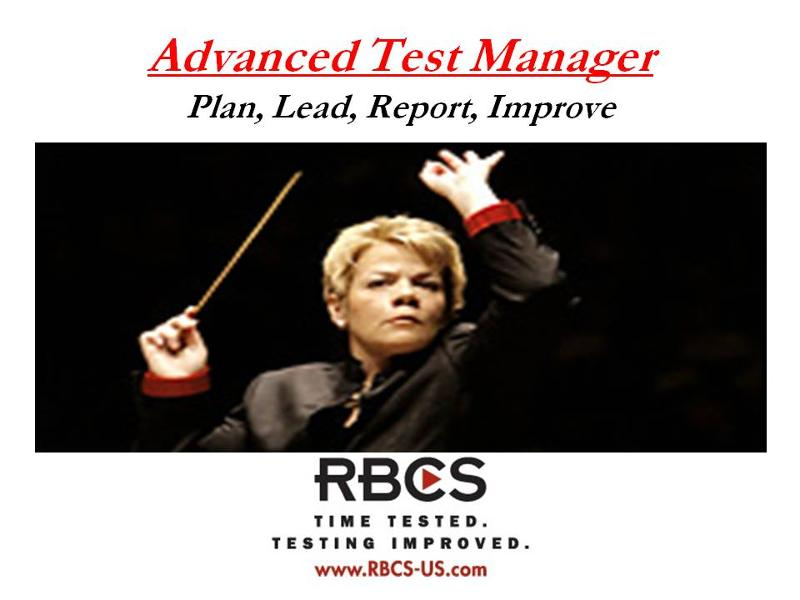 ISTQB Advanced Test Manager E-Learning