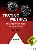 Testing Metrics Measuring Product Project and process quality