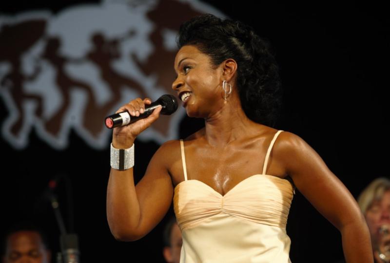 Stephanie Jordan at the 2009 Jazz Fest