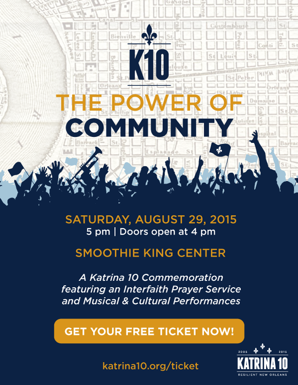 Katrina10 Ticket Info