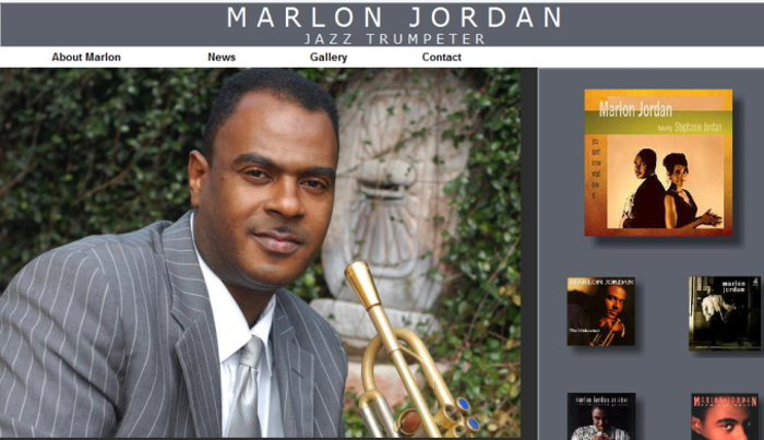 Marlon Jordan - Jazz Trumpeter