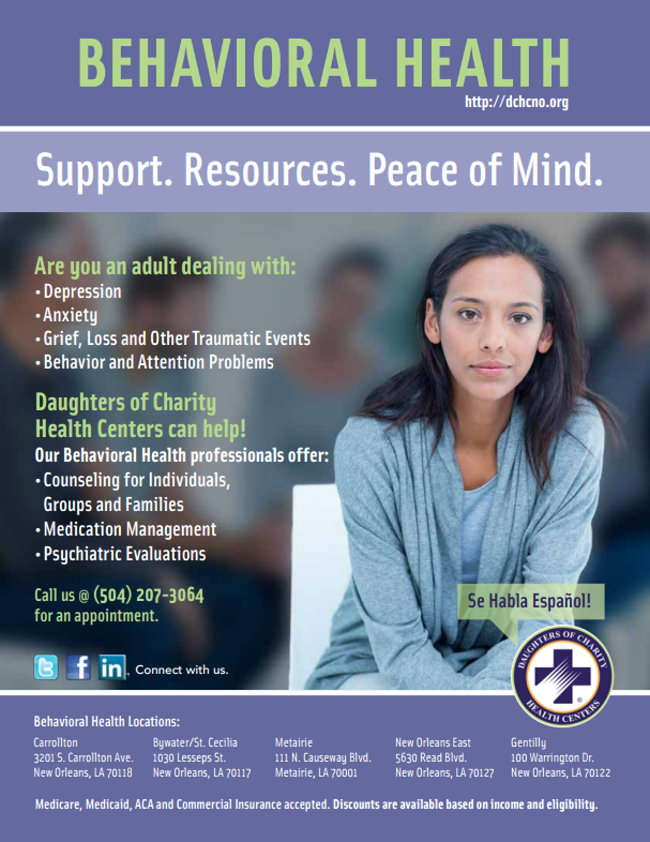 Daughters of Charity Behavioral Health Service for Adults
