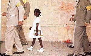 Ruby Bridges - norman-rockwell