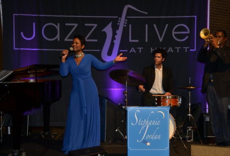 Stephanie Jordan Jazz Live Hyatt