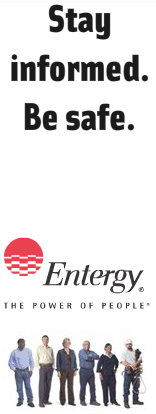 Entergy New Orleans - Stay informed.