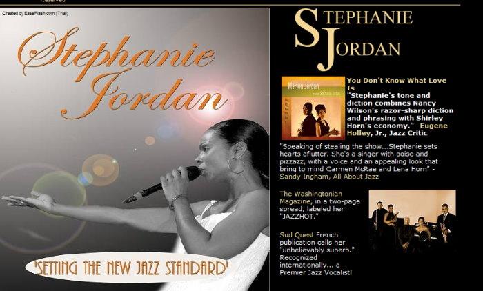 Stephanie Jordan promo . . .