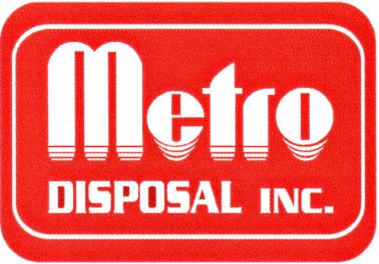 Metro Disposal Inc - red