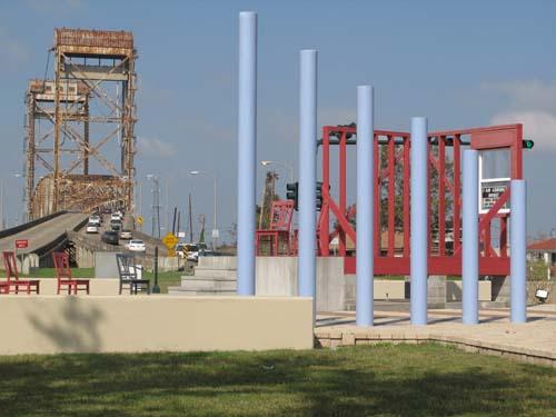 Katrina Memorial in the Lower Ninth Ward