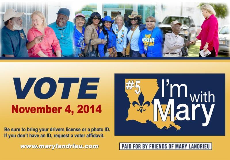 Vote Mary Landrieu