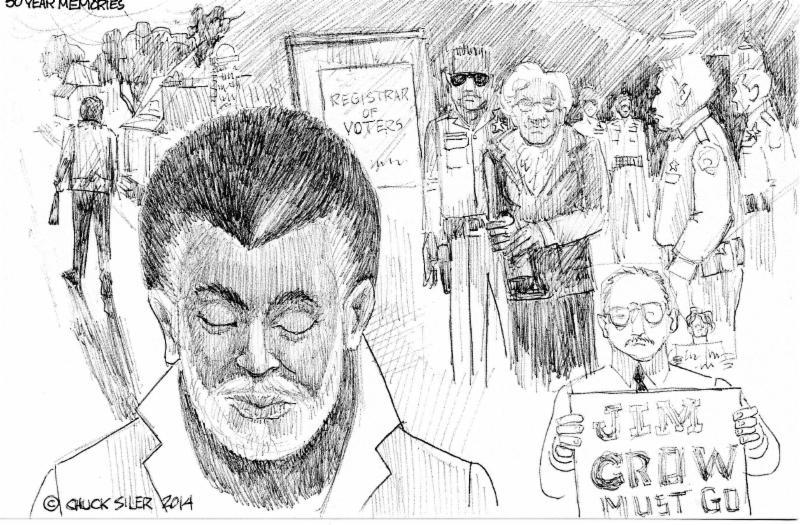 Chuck Siler - 50 YEARS AGO-VOTING by Chuck Siler