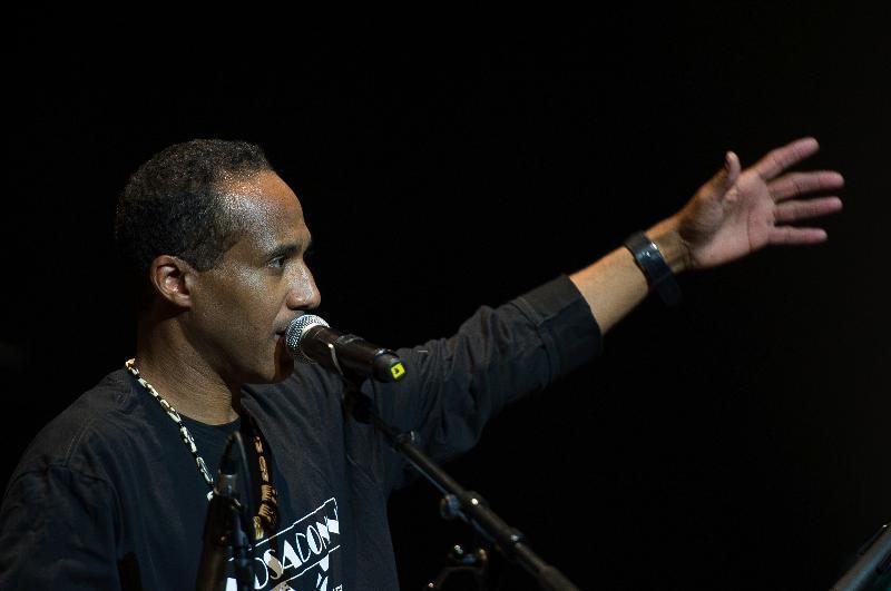 Damon Batiste at France's Alunay All Blues Festival