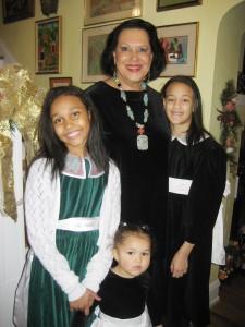 Sandra McCollum and family