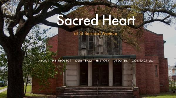 Sacred Heart Church on St Bernard Avenue
