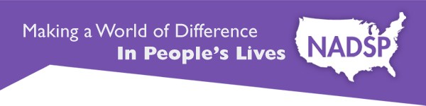 NADSP, Making a world of difference in people's lives