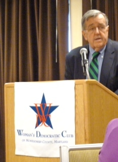 Shields at WDC Luncheon