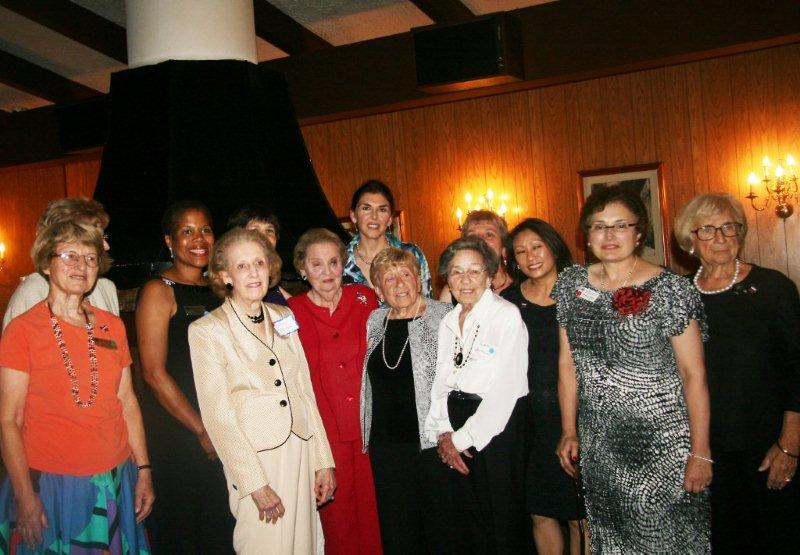 Secretary Albright with Current Board