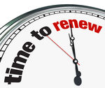 Time to renew