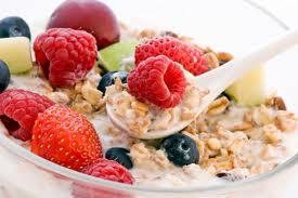 oatmeal fruits and nuts