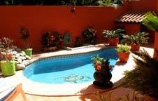 casa el izote pool