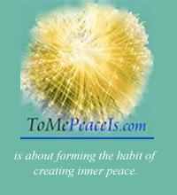 To Me Peace Is Ad