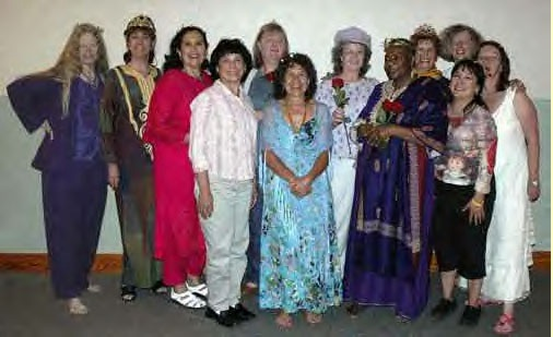 Crowned Queens at Isis Institute, TX