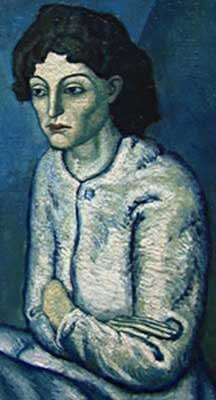 Picasso Woman w/ Arms Crossed