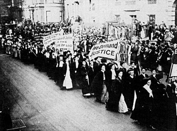 women's vote parade