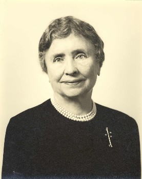 Portrait Photo of Helen Keller