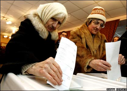 russia voting