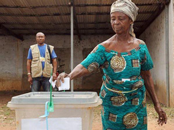 Botswana voting