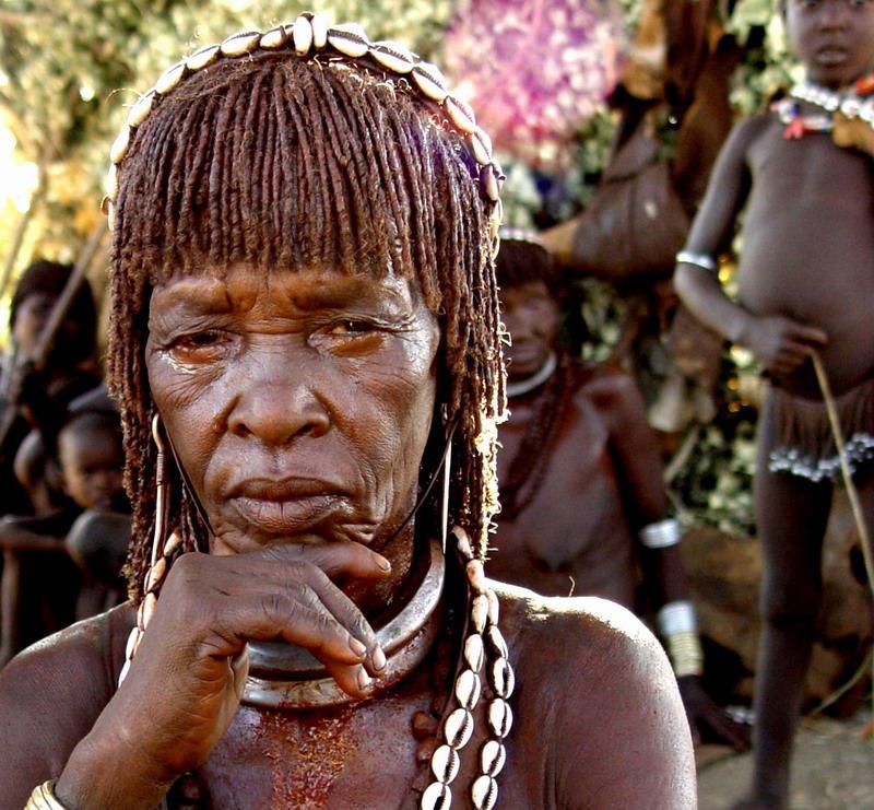 Elegant African Woman