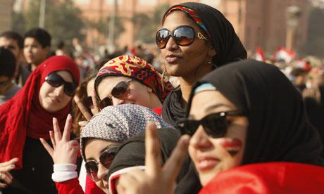 Egyptian Women in Tahrir Square