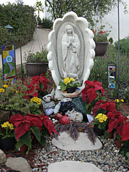 Lady of Guadalupe Altar