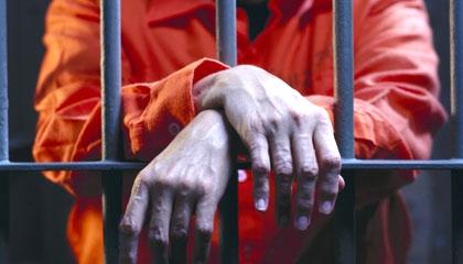 Prison Bars w/ Hands