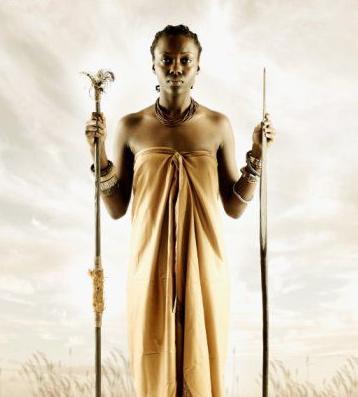 African Warrior Woman