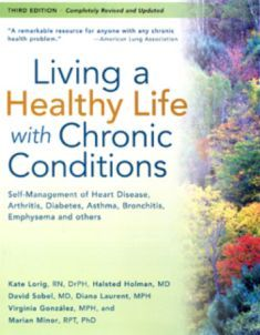 """Cover of the book """"Living a Healthy Life with Chronic Conditions"""""""