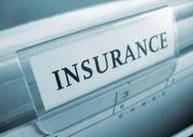 File folder tab reading Insurance