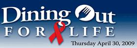 Logo of Dine Out for Life!