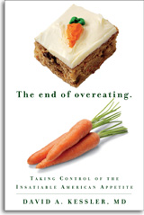 """Book titled """"The End of Overeating"""""""