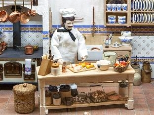 Detail of a Provence kitchen