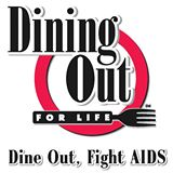 Logo for Dine Out, Fight AIDS