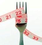 Fork & tape measure, shrunk