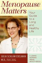 Cover of book, Menopause Matters