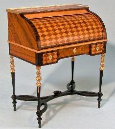 Louis XVI parquetry desk