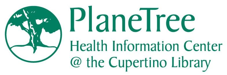 PlaneTree Health Info Center logo, including name